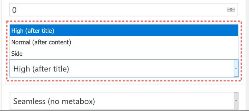 Advanced Custom Fields(ACF)でフィールドの表示位置が変更できない時の解決方法